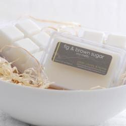 Soy Melts - Fig & Brown Sugar - Breakaway Clamshell